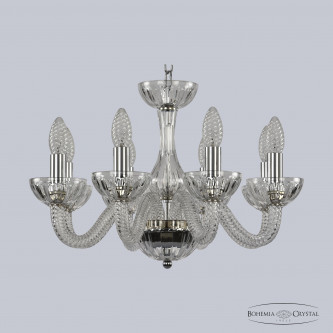 Люстра Bohemia Ivele Crystal 1310/8/165 Ni Cl/Clear/M-1H