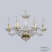 Люстра Bohemia Ivele Crystal 1311/6/165 G Cl/Clear/M-1F